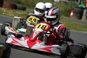 A go-kart race.