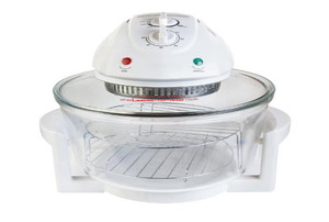 A halogen oven.