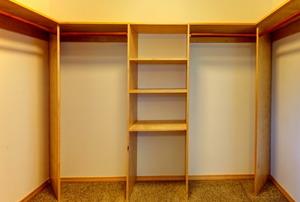 A new closet organizer.