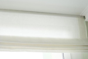 light fabric roman shades