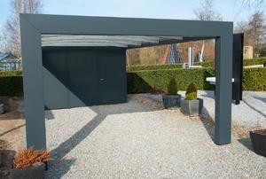 A carport.