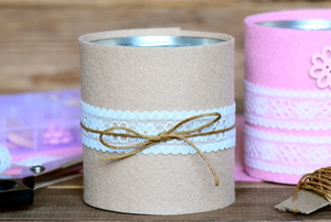 hand crafted storage jar containters