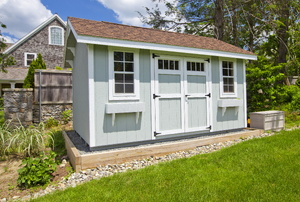 Sheds: Plastic vs. Metal and Wood