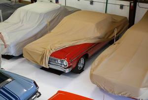 Modular garage flooring.