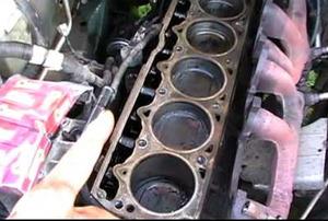 cylinder head in engine