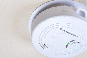 a carbon monoxide detector