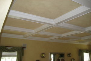 Crown molding.