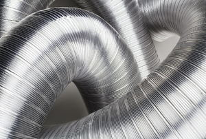 Flexible ductwork.