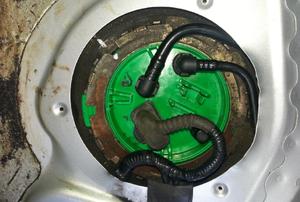 fuel pump in an engine
