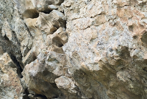 A small group of limestone.