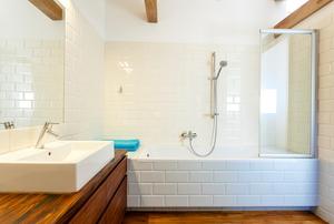 A bathtub.