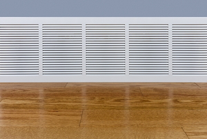 Electronic hydronic baseboard heaters.