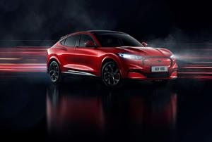 An electric car.