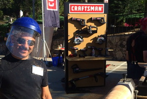 Senior Editor, Justin DiPego at the Craftsman MAKEcation