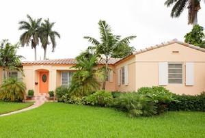 Florida house with stucco exterior