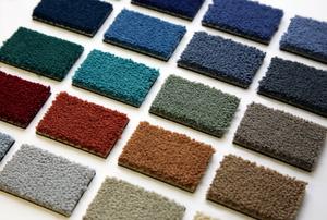 Carpet samples.