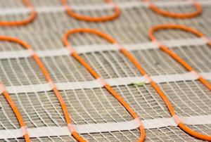 Radiant flooring coils