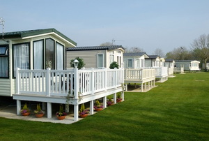 Residential mobile home on a quality caravan park estate