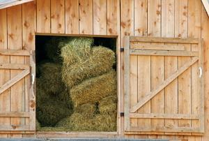 A pole barn.