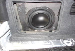 an in-car Subwoofer