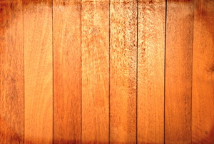 A close-up of wooden planks.