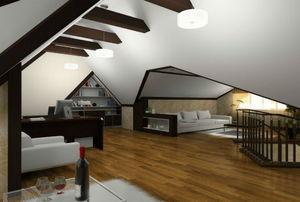 boxed ceiling beams