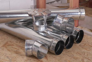pile of ductwork pieces