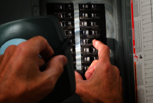 flipping a circuit breaker