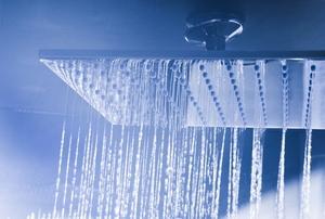 A showerhead.