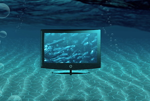 How to Fix a Television That Has Water Damage