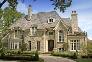 Beautiful Stone House.