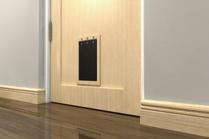 How To Insulate a Pet Door Flap