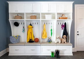 How to Organize an Indoor Drop Station for Winter Gear