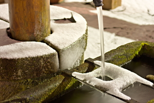 How to Winterize Water Features in Your Yard