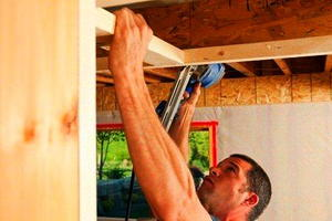 Werner's Easy Access Attic Ladder 5 - Cut Ceiling Joists