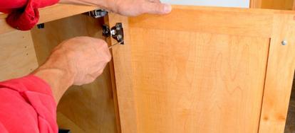 How To Remove Inset Cabinet Door Hinges Doityourself Com