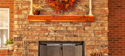 Placing A Mantel Shelf Over A Fireplace Doityourself Com