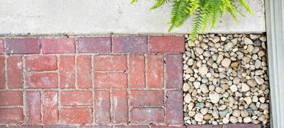 How to Install Edging Pavers around a Concrete Patio