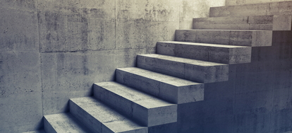 Etonnant Concrete Stairs Are Tougher And Sturdier Than Wood Stairs, But They Are  Often More Difficult To Maintain. Unlike Wood, Concrete Is More Susceptible  To ...