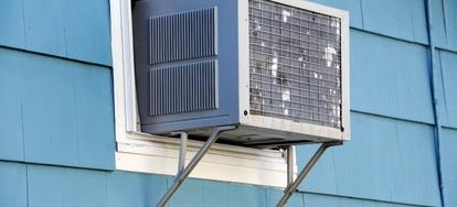Sideways Air Conditioner Installation   DoItYourself com