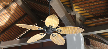 For Decks And Patios With Solid Roofs An Outdoor Ceiling Fan Is A Great Addition To Keep The Air Moving Things Cool Installing