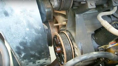 How to Change a Power Steering Belt | DoItYourself com