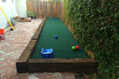 Building A Bocce Ball Court On Budget Justin Dipego