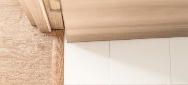 Cutting Door Jambs Between Laminate And Tile Doityourself Com