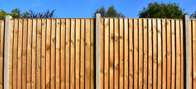Staining Your Wood Fence Panels