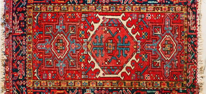 Cleaning Persian Rug Fringe