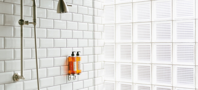 Suggested Hand Held Shower Slide Bar Placement