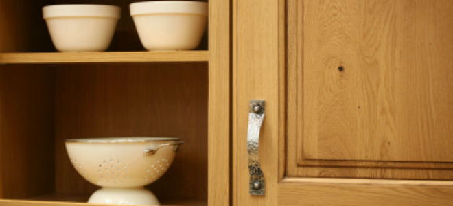 How to Remove Unwanted Finish From Old Kitchen Cabinets ...