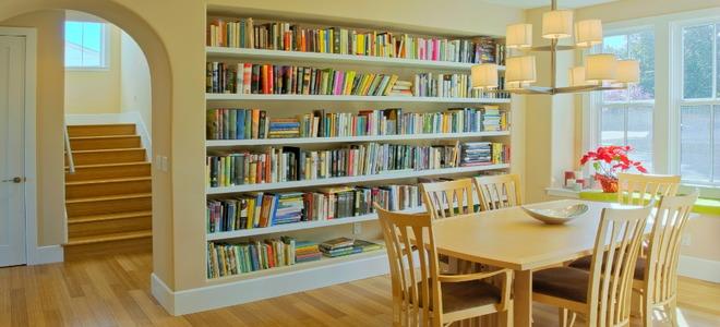 Do It Yourself Bookshelf Ideas: Will Built-in Bookshelves Increase Property Value