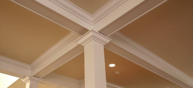 Two Pieces Of Crown Molding Trim